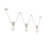 3-light suspension lamp - C1742 - Urban Collection